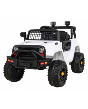 Elektrické autíčko Jeep Dark Night biele